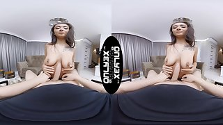 Horny girlfriend Darcia Lee opens wide to on every side his cock thither her frowardness