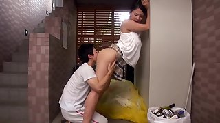 Sex-mad Japanese Devoted to Neighbour Fucks Young Dude