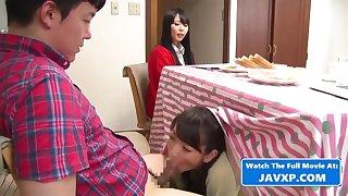 Weird Japanese Family Fuck During Dinner Jav Asian