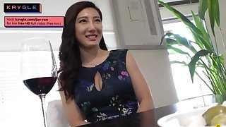 Steamy JAV Japanese go-between banging her client