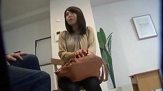 Hairy puss Japanese chick Suzuki Miwa enjoys procurement fucked