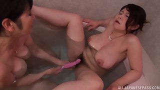 Mizuno Yoshie and say no to mature collaborate have kinky lesbian sex
