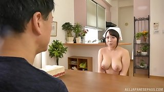 Asian nurse fro fat tits needs cock for some recreation
