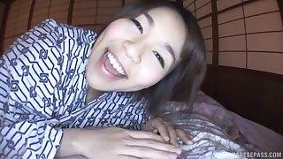 Asian chick Nishizono Sakuya loves a long dick more than anything